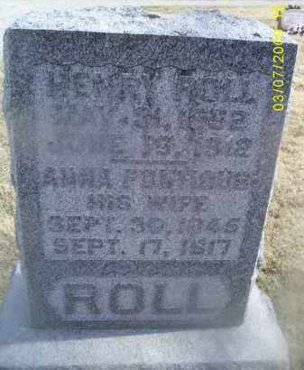 PONTIOUS ROLL, ANNA - Ross County, Ohio | ANNA PONTIOUS ROLL - Ohio Gravestone Photos