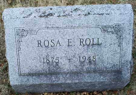 ROLL, ROSA E. - Ross County, Ohio | ROSA E. ROLL - Ohio Gravestone Photos