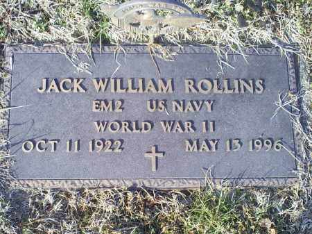 ROLLINS, JACK WILLIAM - Ross County, Ohio | JACK WILLIAM ROLLINS - Ohio Gravestone Photos
