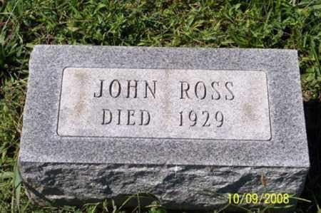 ROSS, JOHN - Ross County, Ohio | JOHN ROSS - Ohio Gravestone Photos