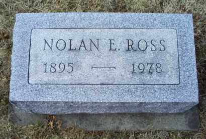 ROSS, NOLAN E. - Ross County, Ohio | NOLAN E. ROSS - Ohio Gravestone Photos