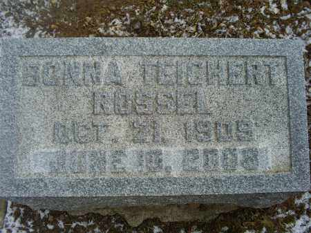 ROSSEL, BONNA - Ross County, Ohio | BONNA ROSSEL - Ohio Gravestone Photos