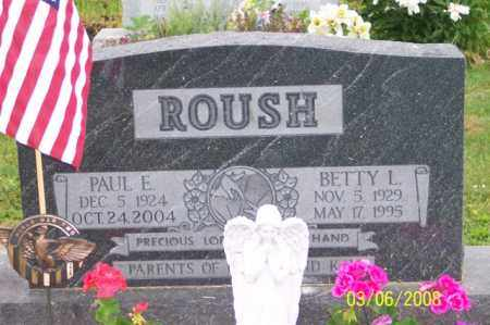 ROUSH, BETTY - Ross County, Ohio | BETTY ROUSH - Ohio Gravestone Photos