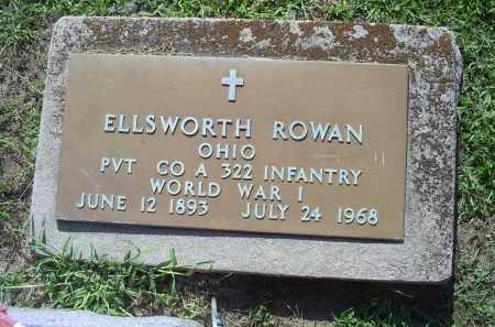 ROWAN, ELLSWORTH - Ross County, Ohio | ELLSWORTH ROWAN - Ohio Gravestone Photos