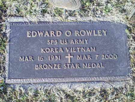 ROWLEY, EDWARD O. - Ross County, Ohio | EDWARD O. ROWLEY - Ohio Gravestone Photos