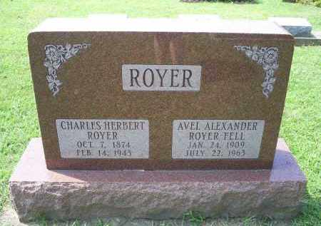 ROYER FELL, AVEL - Ross County, Ohio | AVEL ROYER FELL - Ohio Gravestone Photos