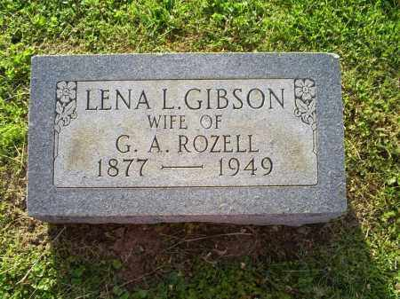 ROZELL, LENA L. - Ross County, Ohio | LENA L. ROZELL - Ohio Gravestone Photos