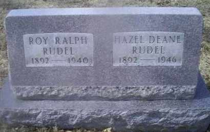 RUDEL, ROY RALPH - Ross County, Ohio | ROY RALPH RUDEL - Ohio Gravestone Photos