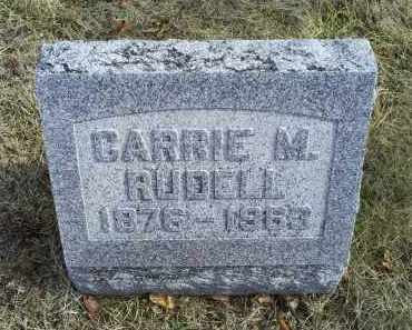 RUDELL, CARRIE M. - Ross County, Ohio | CARRIE M. RUDELL - Ohio Gravestone Photos