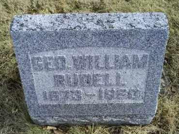 RUDELL, GEO. WILLIAM - Ross County, Ohio | GEO. WILLIAM RUDELL - Ohio Gravestone Photos