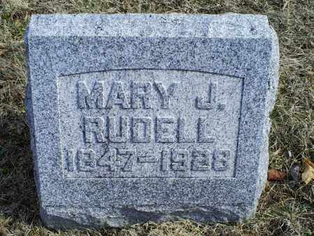 RUDELL, MARY J. - Ross County, Ohio | MARY J. RUDELL - Ohio Gravestone Photos