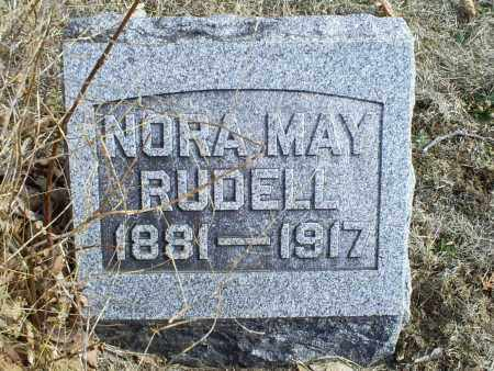 MAY RUDELL, NORA - Ross County, Ohio | NORA MAY RUDELL - Ohio Gravestone Photos