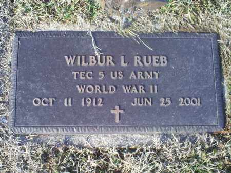 RUEB, WILBUR L. - Ross County, Ohio | WILBUR L. RUEB - Ohio Gravestone Photos