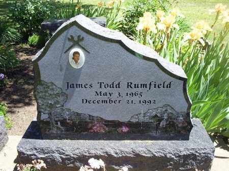 RUMFIELD, JAMES TODD - Ross County, Ohio | JAMES TODD RUMFIELD - Ohio Gravestone Photos