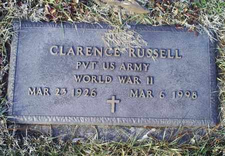 RUSSELL, CLARENCE - Ross County, Ohio | CLARENCE RUSSELL - Ohio Gravestone Photos