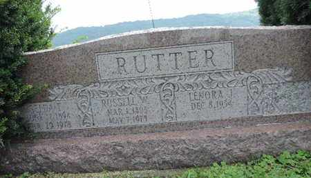 RUTTER, RUSSELL W. - Ross County, Ohio | RUSSELL W. RUTTER - Ohio Gravestone Photos