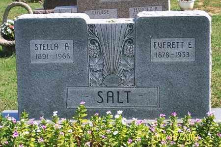 SALT, STELLA A. - Ross County, Ohio | STELLA A. SALT - Ohio Gravestone Photos