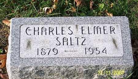 SALTZ, CHARLES ELMER - Ross County, Ohio | CHARLES ELMER SALTZ - Ohio Gravestone Photos