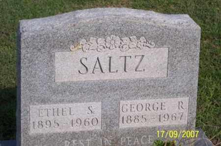 SALTZ, ETHEL S. - Ross County, Ohio | ETHEL S. SALTZ - Ohio Gravestone Photos
