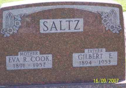 SALTZ, GILBERT E. - Ross County, Ohio | GILBERT E. SALTZ - Ohio Gravestone Photos
