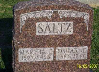 SALTZ, MARTHA E. - Ross County, Ohio | MARTHA E. SALTZ - Ohio Gravestone Photos