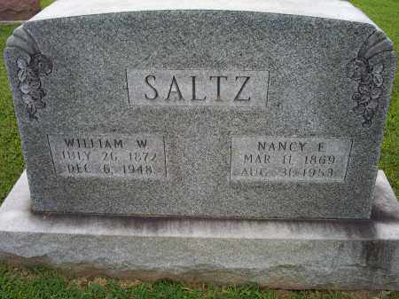SALTZ, NANCY E. - Ross County, Ohio | NANCY E. SALTZ - Ohio Gravestone Photos