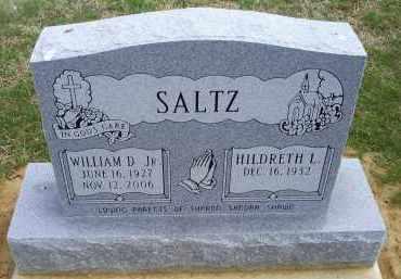 SALTZ, WILLIAM D. JR. - Ross County, Ohio | WILLIAM D. JR. SALTZ - Ohio Gravestone Photos