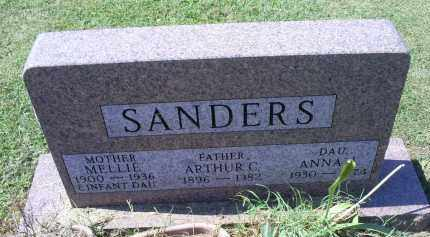 SANDERS, MELLIE - Ross County, Ohio | MELLIE SANDERS - Ohio Gravestone Photos
