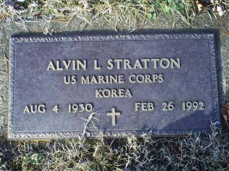 SATRATTON, ALVIN L. - Ross County, Ohio | ALVIN L. SATRATTON - Ohio Gravestone Photos