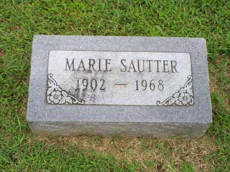 SAUTTER, MARIE - Ross County, Ohio | MARIE SAUTTER - Ohio Gravestone Photos