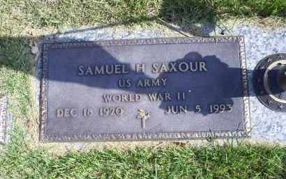 SAXOUR, SAMUEL H. - Ross County, Ohio | SAMUEL H. SAXOUR - Ohio Gravestone Photos