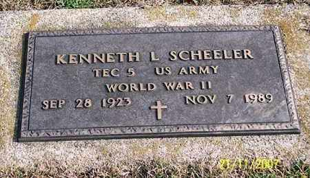 SCHEELER, KENNETH L. - Ross County, Ohio | KENNETH L. SCHEELER - Ohio Gravestone Photos
