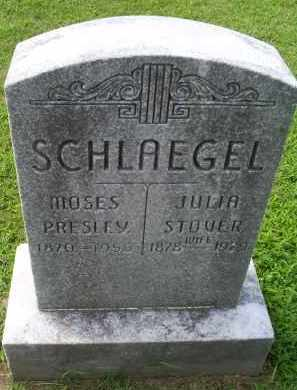 STOVER SCHLAEGEL, JULIA - Ross County, Ohio | JULIA STOVER SCHLAEGEL - Ohio Gravestone Photos