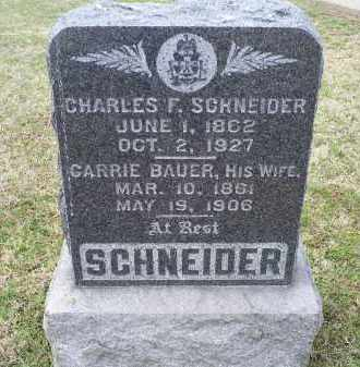 SCHNEIDER, CARRIE - Ross County, Ohio | CARRIE SCHNEIDER - Ohio Gravestone Photos