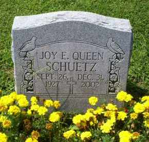 SCHUETZ, JOY E. - Ross County, Ohio | JOY E. SCHUETZ - Ohio Gravestone Photos