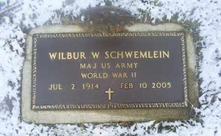 SCHWEMLEIN, WILBUR W. - Ross County, Ohio | WILBUR W. SCHWEMLEIN - Ohio Gravestone Photos