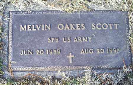 SCOTT, MELVIN OAKES - Ross County, Ohio | MELVIN OAKES SCOTT - Ohio Gravestone Photos