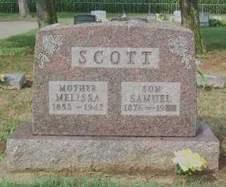 SCOTT, MELISSA - Ross County, Ohio | MELISSA SCOTT - Ohio Gravestone Photos