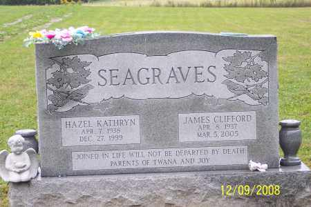 SEAGRAVES, JAMES CLIFFORD - Ross County, Ohio | JAMES CLIFFORD SEAGRAVES - Ohio Gravestone Photos