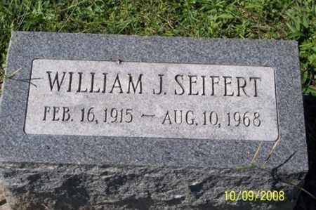 SEIFERT, WILLIAM J. - Ross County, Ohio   WILLIAM J. SEIFERT - Ohio Gravestone Photos