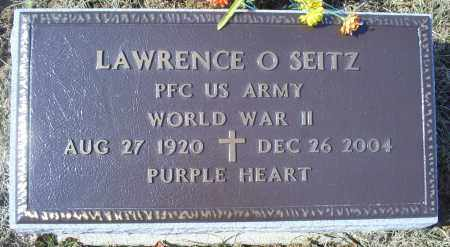 SEITZ, LAWRENCE O. - Ross County, Ohio | LAWRENCE O. SEITZ - Ohio Gravestone Photos