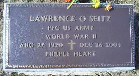 SEITZ, LAWRENCE O. - Ross County, Ohio | LAWRENCE O. SEITZ - Ohio Gravestone Photos