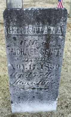SENFF, CHRISTIANA - Ross County, Ohio | CHRISTIANA SENFF - Ohio Gravestone Photos