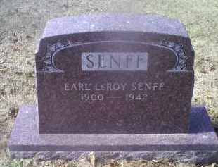 SENFF, EARL LEROY - Ross County, Ohio | EARL LEROY SENFF - Ohio Gravestone Photos