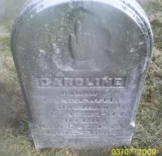 SEWELL, CAROLINE - Ross County, Ohio | CAROLINE SEWELL - Ohio Gravestone Photos
