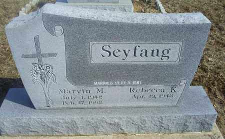 SEYFANG, MARVIN M. - Ross County, Ohio | MARVIN M. SEYFANG - Ohio Gravestone Photos