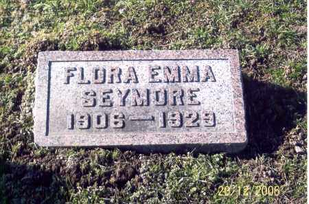 SEYMORE, FLORA EMMA - Ross County, Ohio | FLORA EMMA SEYMORE - Ohio Gravestone Photos