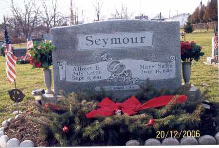 SEYMOUR, ALBERT E. - Ross County, Ohio | ALBERT E. SEYMOUR - Ohio Gravestone Photos