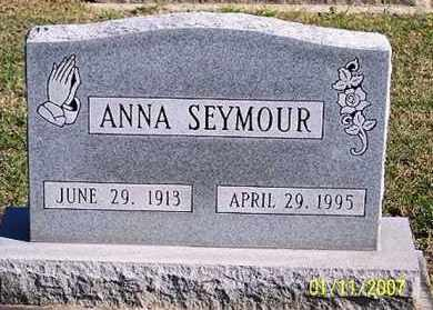 SEYMOUR, ANNA - Ross County, Ohio | ANNA SEYMOUR - Ohio Gravestone Photos