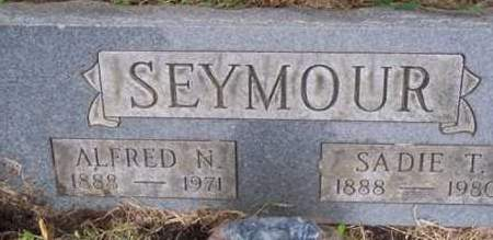 SEYMOUR, SADIE T. - Ross County, Ohio | SADIE T. SEYMOUR - Ohio Gravestone Photos